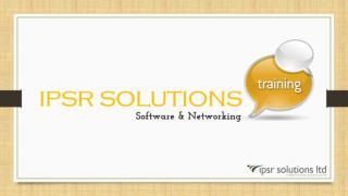 Ipsre Solutions   Training Program