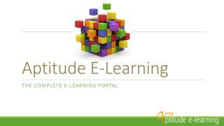 Aptitude Training   IPSR solutions