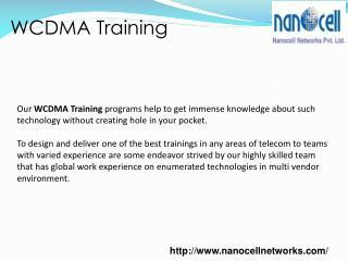WCDMA Training