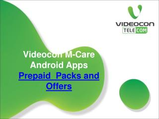 Videocon Android Apps