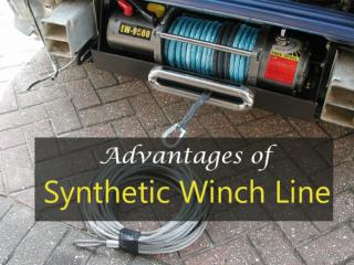 Advantages of Synthetic Winch Line