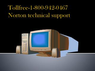 Tollfree-1-800-942-0467 Norton technical support number
