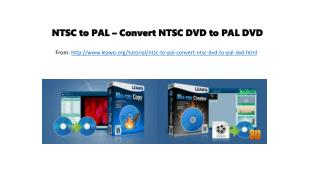 Ntsc to pal – convert ntsc dvd to pal dvd