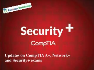 CompTIA Pass4sure Sy0-401 Training