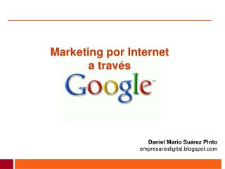 Marketing por Internet  a través