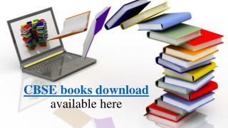 Download cbse books and sample question papers here