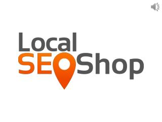 Local SEO services - Local SEO shop