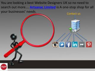 Website and Graphic Designers UK – Artsanac