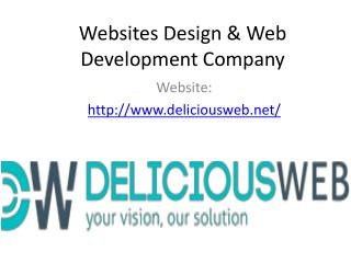 Website designing & Web Development services