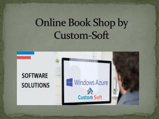 Custom Soft Application development for Book Shop
