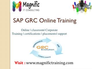 SAP GRC ONLINE TRAINING IN AUSTRALIA\SOUTH AFRICA