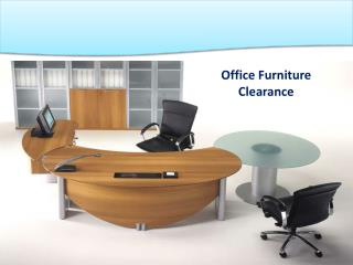 Office Furniture Clearance Services in London