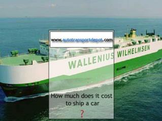 how much does it cost to send a letter ppt how much to ship a car across country powerpoint 42669
