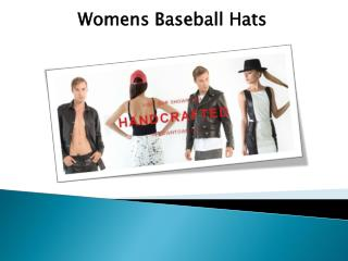 Womens Baseball Hats