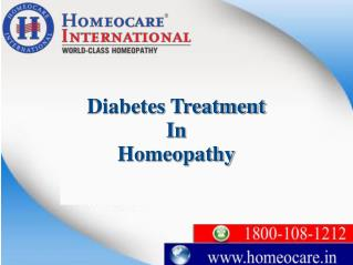Control your high blood sugar levels with Homeopathy