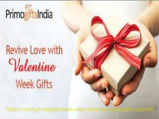 Revive your Love  for Valentine 2016 with amazing Valentine Week Gifts at   Primogiftsindia.com!