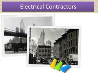 high voltage contracting
