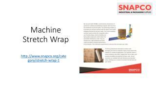 Machine Stretch Wrap Guide