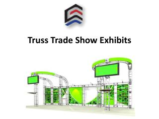 Truss trade show exhibits