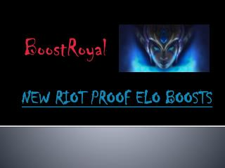 New Riot Proof ELO Boost