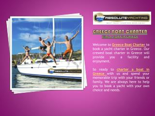 Greece Boat Charter- Hire a boat in Greece