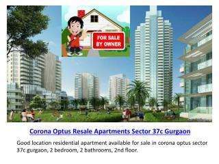 Resale Property in Gurgaon