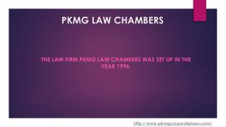 Corporate Law Adviser India I PKMG