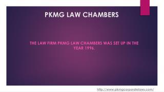 Corporate Law Adviser India I PKMG