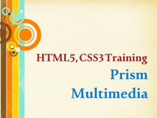 HTML5 Training in Hyderabad, BEST HTML5 Training Institute, HTML5 and CSS3 Training in Hyderabad