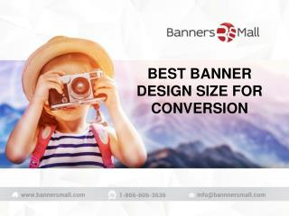 Best banner design size for conversion of business