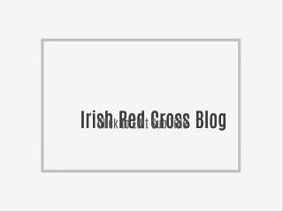 Irish Red Cross Blog