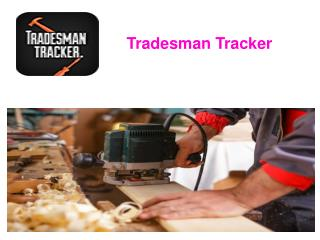 Tradesman Tracker - Search the Tradesman