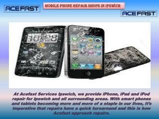 Select Your Mobile Phone Repair Shops in Ipswich