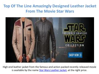 The Best Fashionable Star Wars Amazing Leather Jacket