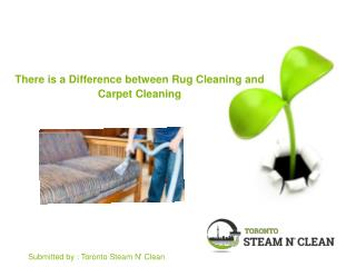 There is a Difference between Rug Cleaning and Carpet Cleaning