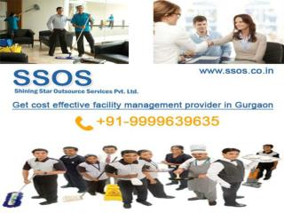 Get cost effective facility management provider in Gurgaon