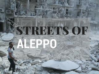Streets of Aleppo