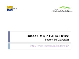 Emaar MGF Palm Drive Properties for Sale Rent Gurgaon