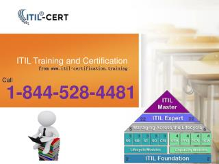 Studying an ITIL Service Capability Expert - 1-844-528-4481