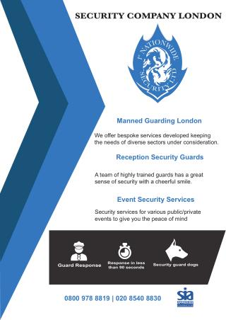 Event Security Services London