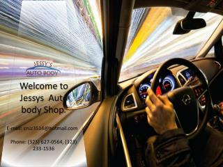 Professional Auto Repair, Polishing and Frame work Services in Torrance, Santa Monica, Pasadena