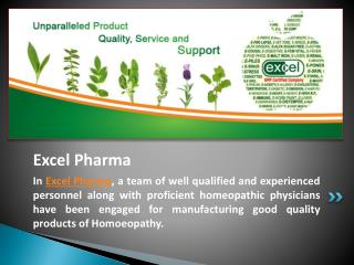 Use of Homeopathic Medicine