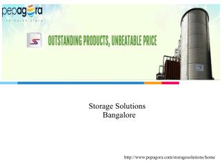 Storage Solutions - Distributor / Wholesaler and  Business Services-www.pepagora.com