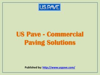 Commercial Paving Solutions