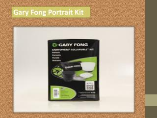 Gary Fong Portrait Kit