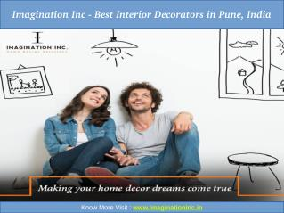 Imagination Inc - Best Interior Decorators in Pune, India