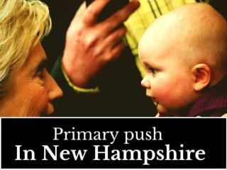 Primary push in New Hampshire