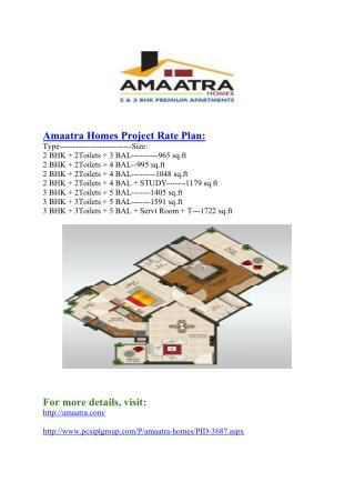 Amaatra Group#@ 91-120-4123407 #@ New Projects