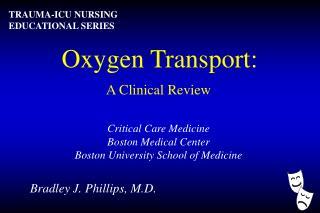 Oxygen Transport: