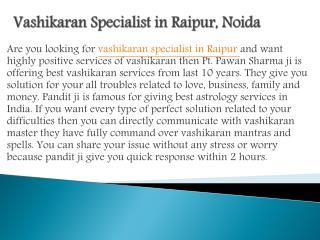 Vashikaran specialist in Patna,Indore,Bhopal